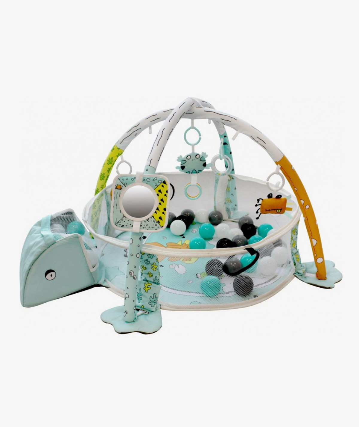 Ball Pit and Activity Gym