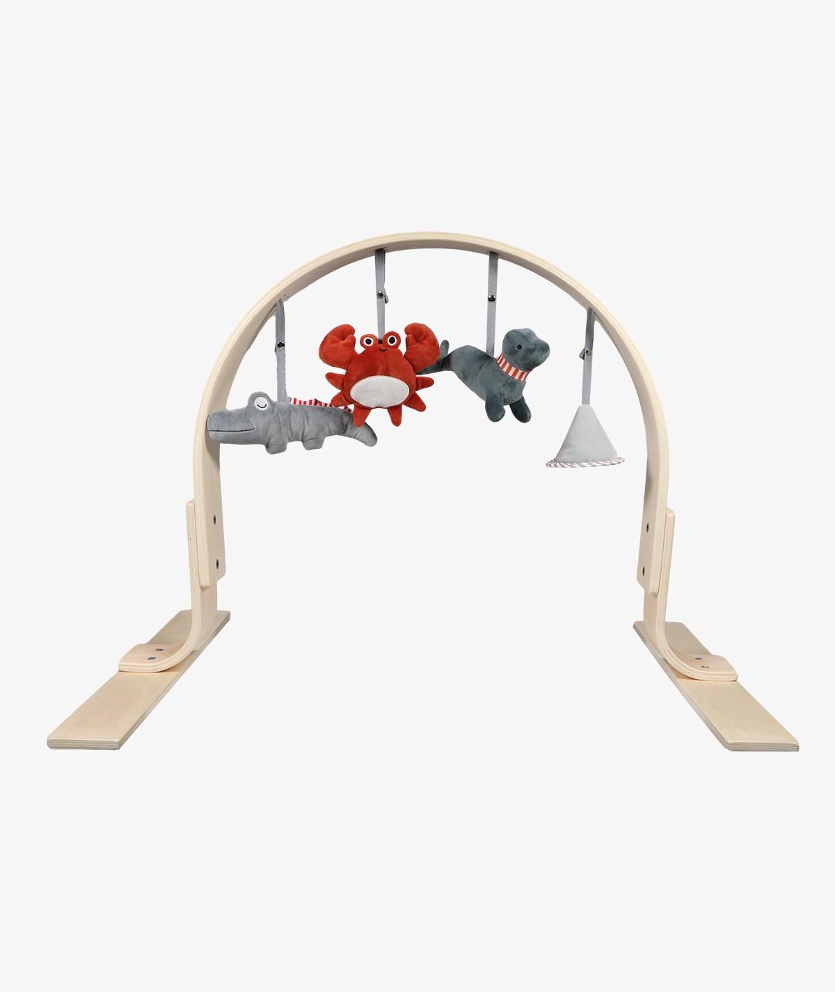 Wooden Animal Bow Babygym