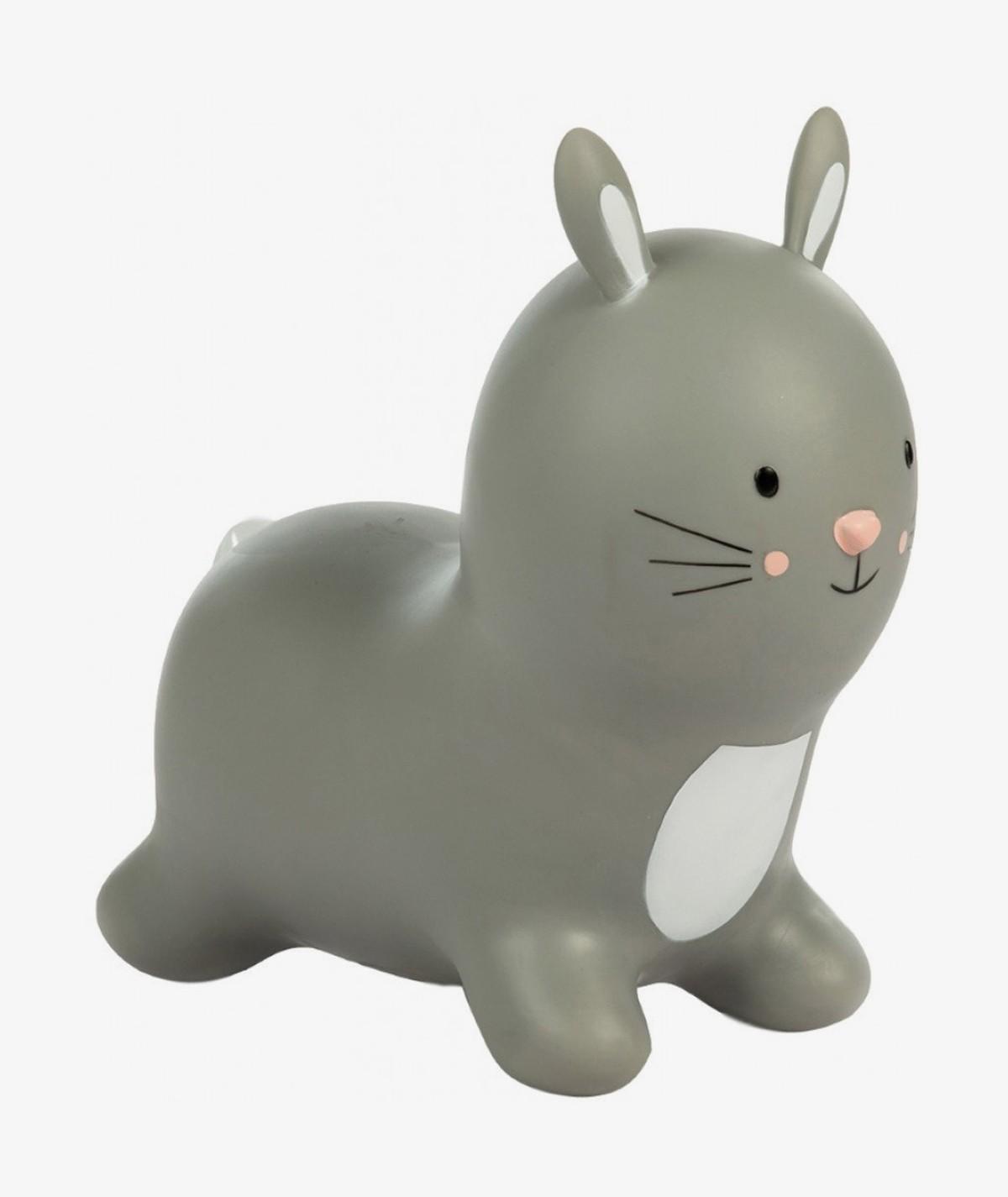 Fluffy the Rabbit Grey