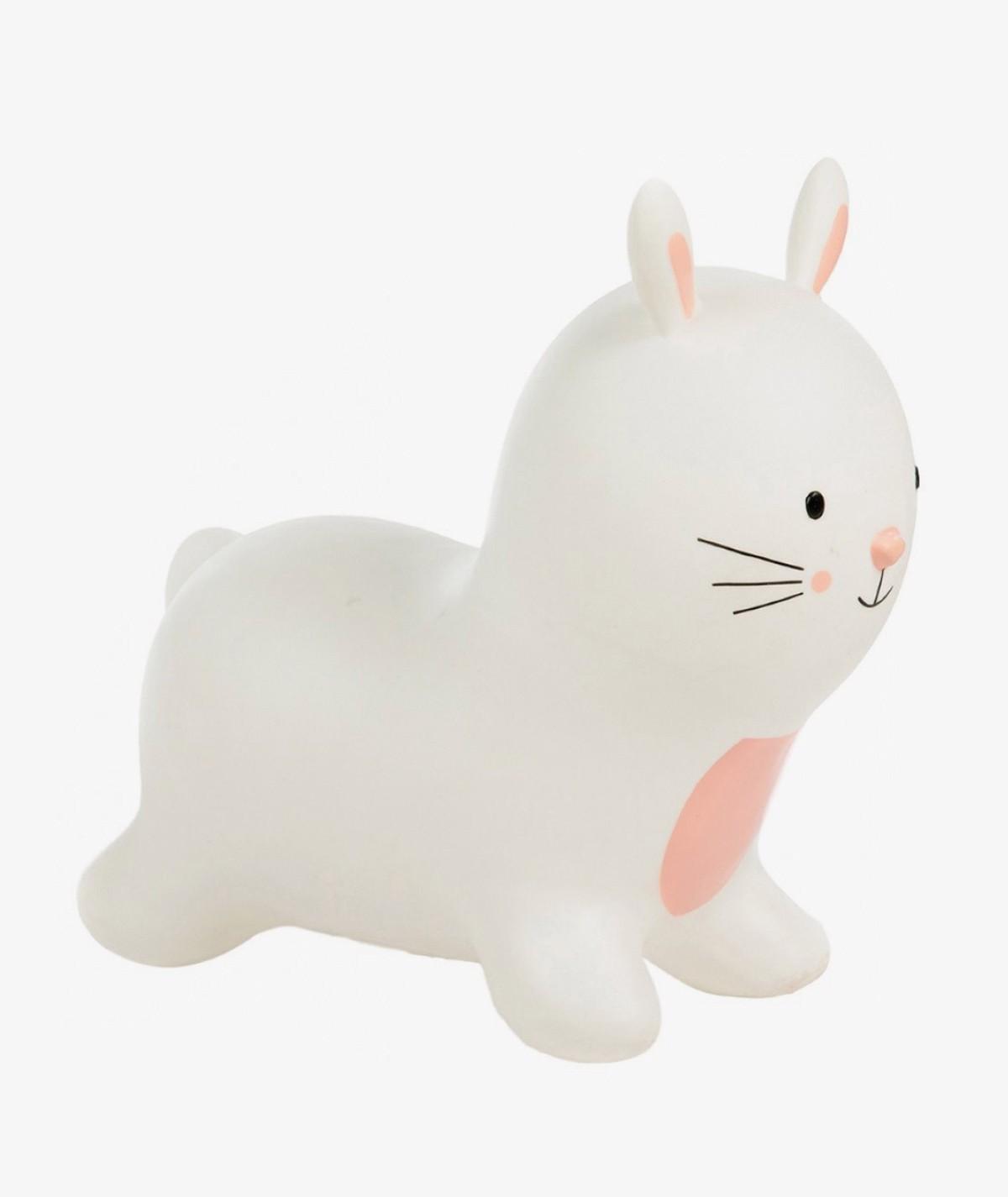 Fluffy the Rabbit White