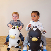 🐮🐮       #trycobaby #bouncy #bouncycow #playtime #cowbabygear #playtime #kidsimagination #nurseryideas #nurseryinspo #nurserydecor #kidsplayroom #playroom
