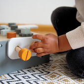 Your little handy(wo)man will help you out around the house using our Wooden Table Work Bench 🧰🔧      #trycobaby #tryco #woodentoolbox #woodentoys #woodentoys #woodencraft#toysforkids #earlylearning #learningthroughplay #momblog #playingislearning #kidsroomdecor #nurseryinspo #mybeautifulstories #childhoodmemories #lifewithkids #mytinymoments #dailyparenting #imaginaryplay