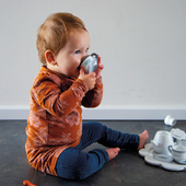Cup of tea anyone? 💕☕️ how cute is this wooden tea set!⁣ ⁣ ⁣ ⁣ ⁣ #trycobaby #woodtoys #simplychildren #woodtoys #wooden #pretendplay #woodenteaset #teatime #teaparty