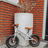 Only for the cool kids 😎 The silver balance bike has a very cool look with the black tires! Don't you agree? 🥰       #trycobaby #firstbike #balancebike #summerfun #outdoorfunforkids #bike #bicycle #kidsbicycle #childrensbicycle #modernbicycle #outdoorfun #kidsbike #childrensbike #childhood #playtime #kidstoys #kidsinspo #balancebikes