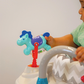 The boogie Activity Center has so many cute toys like this horse 🐴      #trycobaby #baby #babygear #skiphop #fun #activitycenter #cute #cutie #happy #playtime #learning #learningtoys #smile #adorable