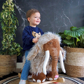 Sunday funday! This little cutie is having fun with Marly the Mammoth, what are your kids doing today? 🤩        #trycobaby #rockinganimal #Marly #mammoth #mammothmarly #rocking #rockingmammoth #nursery #nurseryideas #nurseryinspo #nurserydecor #kidsroom #playroom #childrenstoys #playtime